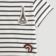 T-shirt manches courtes paris Monoprix Kids