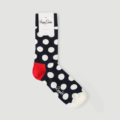 Chaussette gros pois Happy Socks