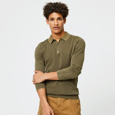 Pull polo Monoprix Homme