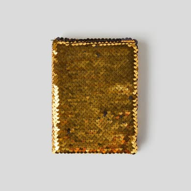 Notebook a6 - sequins Monoprix Maison