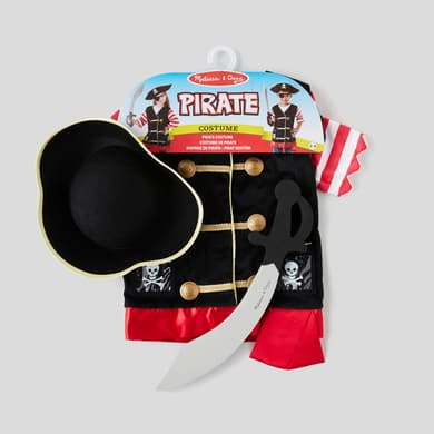 Costume de pirate Melissa Doug