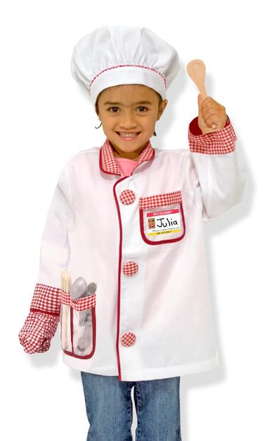 Costume de chef Melissa Doug