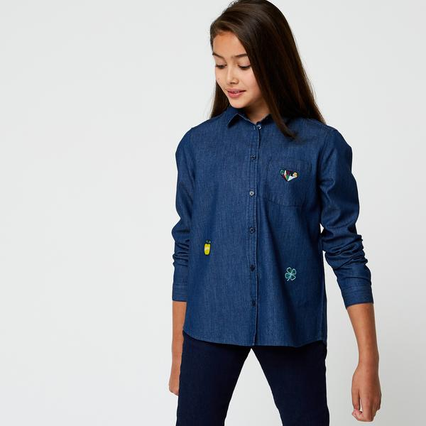 Chemise patch Monoprix Teens