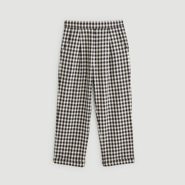 Pantalon à carreaux Monoprix Kids