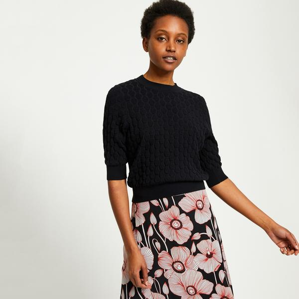 Pull manches 3/4 Monoprix Femme