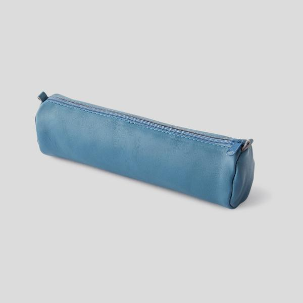 Trousse ronde cuir Clairefontaine