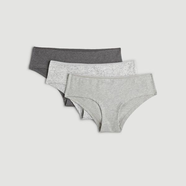 Lot de 3 shorties chinés Monoprix Femme