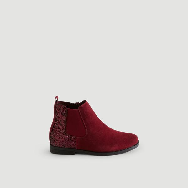 Bottines elastiques brillantes Monoprix Kids