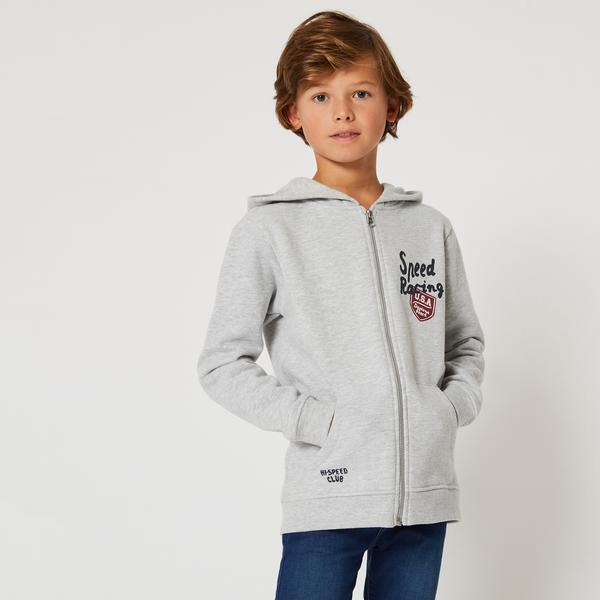 Sweat a capuche zippe Monoprix Teens