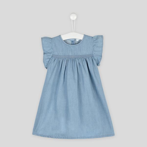 Robe en chambray Boutchou
